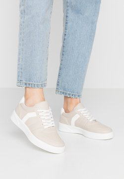 Topshop - CHARLTON LACE UP - Sneakers laag - taupe
