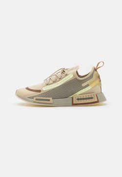 adidas Originals - NMD_R1 SPECTOO UNISEX - Sneakersy niskie - savannah/fear grey/yellow