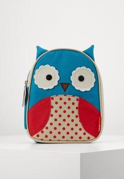 Skip Hop - ZOO LUNCHIES OWL - Torebka - blue, red