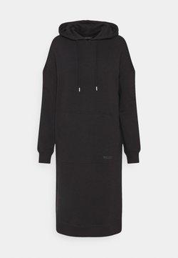 Marc O'Polo - DRESS HOOD - Freizeitkleid - black