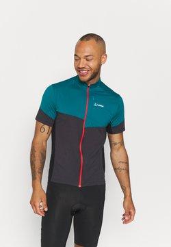 LÖFFLER - BIKE BLOCK - T-Shirt print - pine