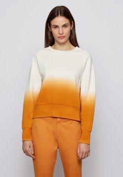 BOSS CASUAL - EDIP - Sweatshirt - orange
