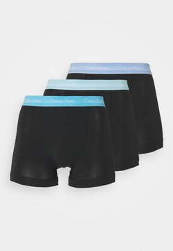 Calvin Klein Underwear - TRUNK 3 PACK - Shorty - black