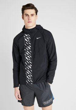 Nike Performance - Laufjacke - black/reflective silver