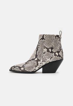 MICHAEL Michael Kors - SINCLAIR BOOTIE - Ankle Boot - black/white