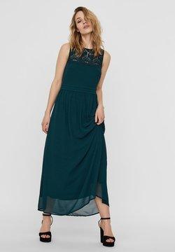 Vero Moda - VMVANESSA DRESS ANCLE - Ballkleid - ponderosa pine