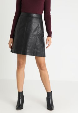 Second Female - PALE SKIRT - A-linjekjol - black