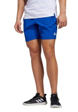 adidas Performance - Pantalón corto de deporte - royalblau
