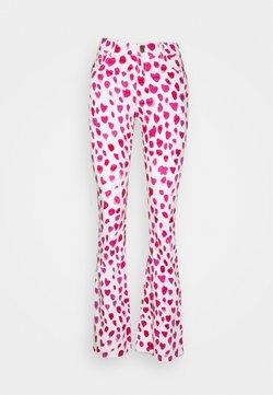 Fabienne Chapot - EVA FLARE TROUSERS - Jeans a zampa - happy leopard