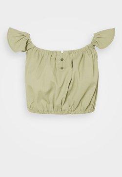 Missguided Petite - Blusa - khaki