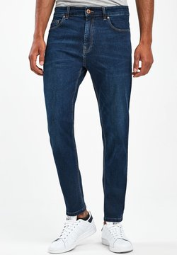 Next - WITH STRETCH - Jeans Tapered Fit - royal blue