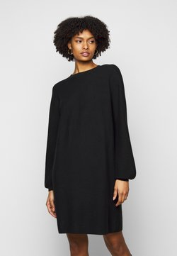 DRYKORN - MARISA - Gebreide jurk - black