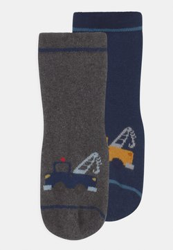 Ewers - TRUCK PLAY 2 PACK - Calcetines - blue/grey