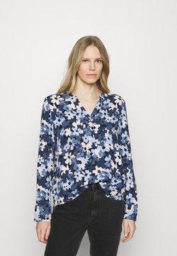 Esprit Collection - BLOUSE - Langarmshirt - dark blue
