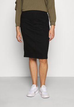 CAPSULE by Simply Be - NEW PULL ON SKIRT - Bleistiftrock - black