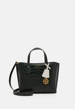 Tory Burch - PERRY EMBOSSED SMALL TRIPLE COMPARTMENT - Handtasche - deep kelp