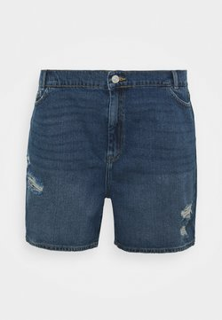 Noisy May Curve - NMLOTTIE SKATE  - Jeans Shorts - medium blue