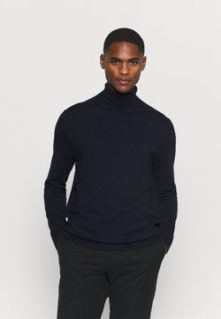 Selected Homme - SLHBERG ROLL NECK - Strickpullover - navy blazer