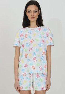 MOSCHINO - T-shirt con stampa - bianco