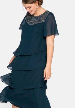 Sheego - Cocktailkleid/festliches Kleid - dunkelpetrol