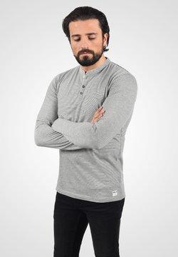 Solid - Langarmshirt - light grey melange