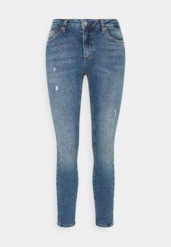 ONLY Petite - ONLCARMEN  - Jeans Skinny Fit - dark blue denim