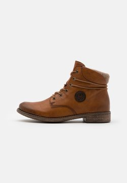 Rieker - Ankle Boot - cayenne/wood/kastanie