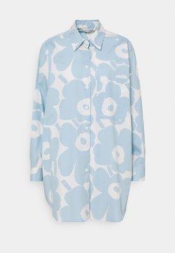 Marimekko - NORKKO PIENI UNIKKO - Skjorta - off-white/light blue