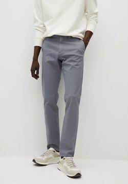 Mango - BARNA - Pantalones chinos - grey