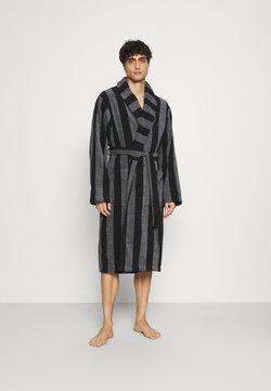 Pier One - Dressing gown - black/dark grey