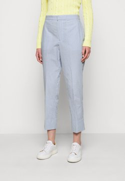 Polo Ralph Lauren - SEERSUCKER - Stoffhose - blue/white