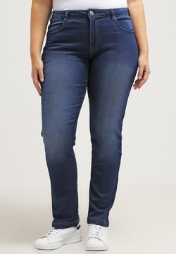Zizzi - EMILY - Slim fit jeans - blue denim