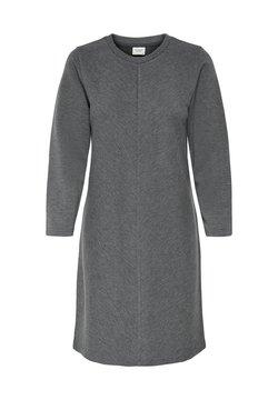 JDY - Vestido de punto - dark grey melange