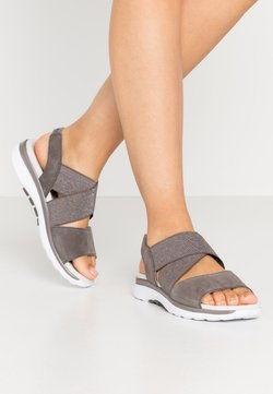 Gabor Comfort - Sandalen met plateauzool - fumo