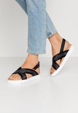Levi's® - PERSIA - Sandals - regular black