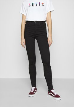 Levi's® - 720 HIRISE SUPER SKINNY - Jeans Skinny Fit - black galaxy