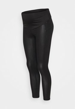LOVE2WAIT - SNAKEPRINT - Leggings - black