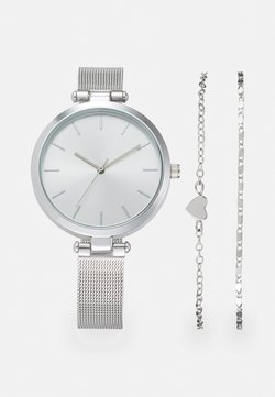 Even&Odd - SET - Uhr - silver-coloured