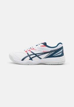 ASICS - COURT SLIDE 2 - All court tennisskor - white/mako blue