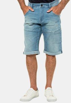 JP1880 - BERMUDA - Jeans Shorts - bleached denim