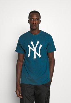 New Era - MLB NEW YORK YANKEES SEASONAL TEAM LOGO TEE - Vereinsmannschaften - blue/white