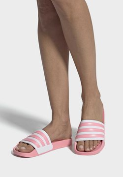 adidas Performance - ADILETTE SHOWER SLIDES - Badesandaler - glory pink