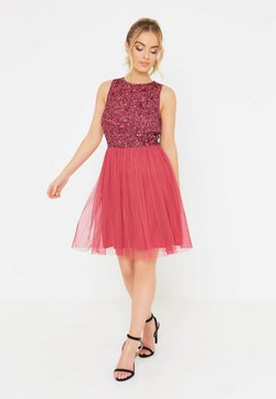 BEAUUT - COCO - Ballkleid - raspberry