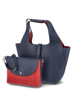 Tamaris - Shopping bag - blau rot