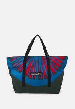 Marimekko - CREATED TANNERT APPELSIINI BAG - Borsa da viaggio - green/blue/red
