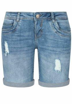 Sublevel - Jeans Shorts - light blue