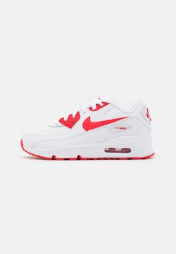 Nike Sportswear - AIR MAX 90 UNISEX - Sneakers laag - white/hyper red/black