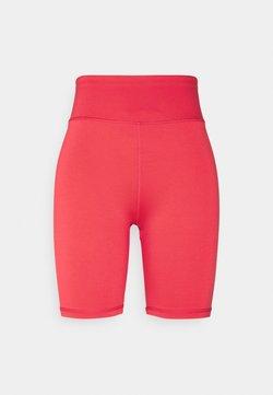 Gina Tricot - SAMANTHA BIKER PANTS - Shorts - hibiscus