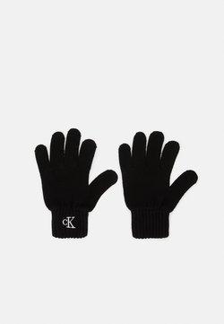 Calvin Klein Jeans - MONOGRAM GLOVES - Fingerhandschuh - black