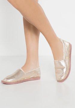 flip*flop - FLIPPADRILLA  - Chaussons - pale gold